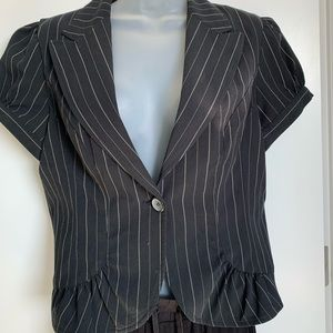 Short Sleeved Blazer